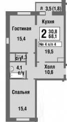 Новое Павлино мкр. 27