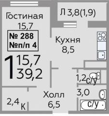 Новое Павлино мкр. 22